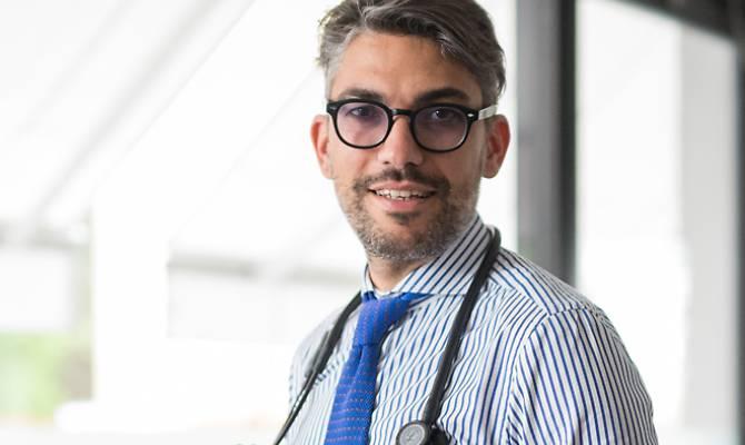 Il dottor Massimo Gualerzi, Direttore Sanitario delle Terme di Salsomaggiore e di Tabiano