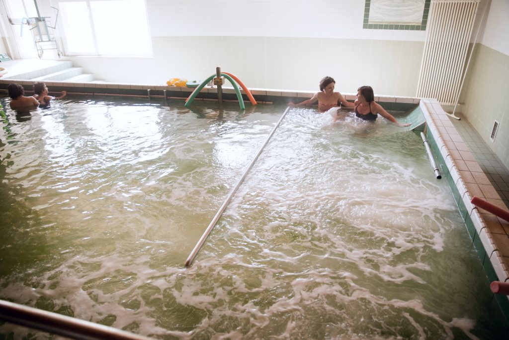 Terapia in acqua termale