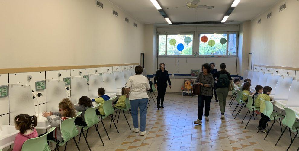 Bambini alla scoperta dell'acqua termale a Salsomaggiore