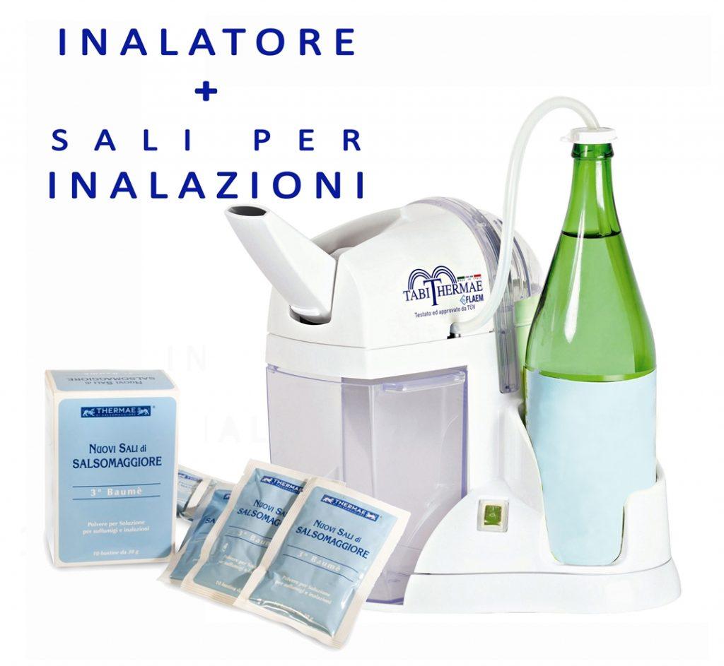 Inalatore e sali per inalazioni di Salsomaggiore - Cure termali a casa