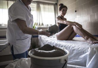 Terapia con fango termale a Salsomaggiore